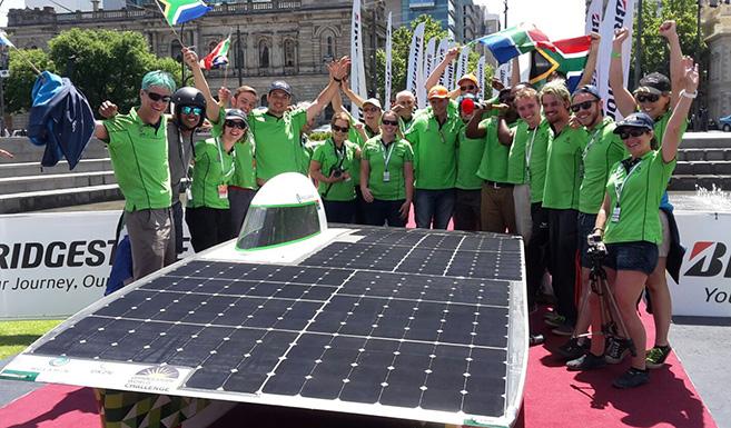 UKZN's Solar Car Shines!